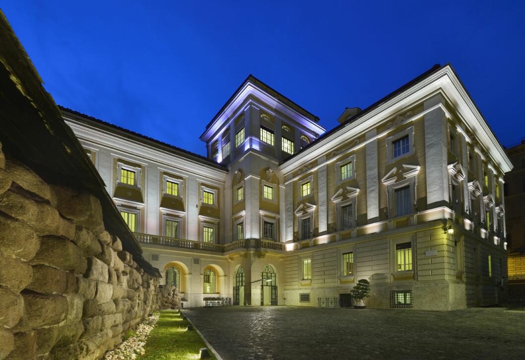 Palazzo Montemartini i Roma blir det første Radisson Collection-hotellet i Italia. (Foto: Radisson Hotel Group)