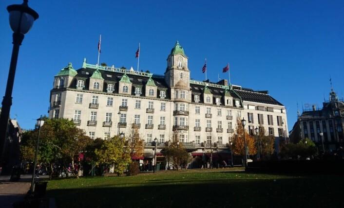 Grand Hotel Oslo by Scandic. (Foto: Heidi Fjelland)