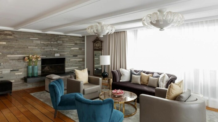 Penthouse Terrace Suite på Grand Hotel by Scandic. (Foto: Scandic Hotels)