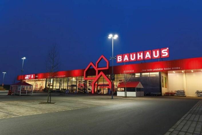 Bauhaus med Weber World Store. (Foto: Bauhaus)