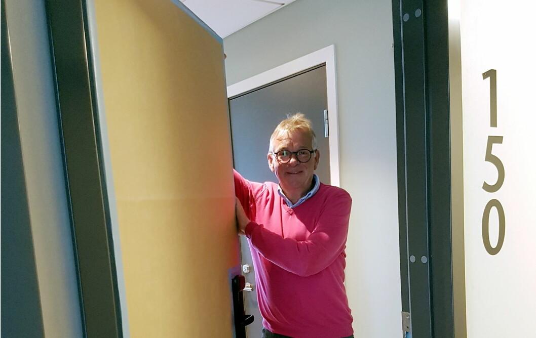 Harald Mical Jakobsen ønsker velkommen til et oppgradert og utvidet Sortland Hotell.