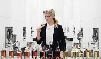 Vin laget med inspirasjon fra parfyme