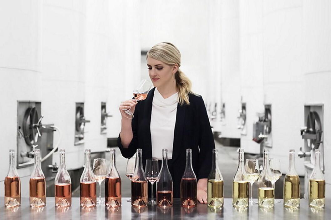 Vinmaker Margaret Leonardi hos Fetzer Vineyards i California har utviklet de nye Adorada-vinene. (Foto: Produsenten)
