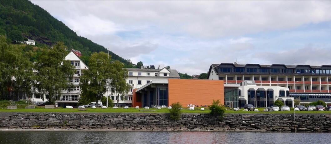 Park Hotel Vossevangen. (Foto: Hotellet)