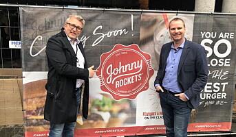 Johnny Rockets åpner i Norge