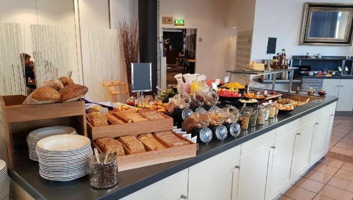 Nå får du også den prisbelønte Scandic-frokosten i Hønefoss. (Foto: Scandic Hotels)