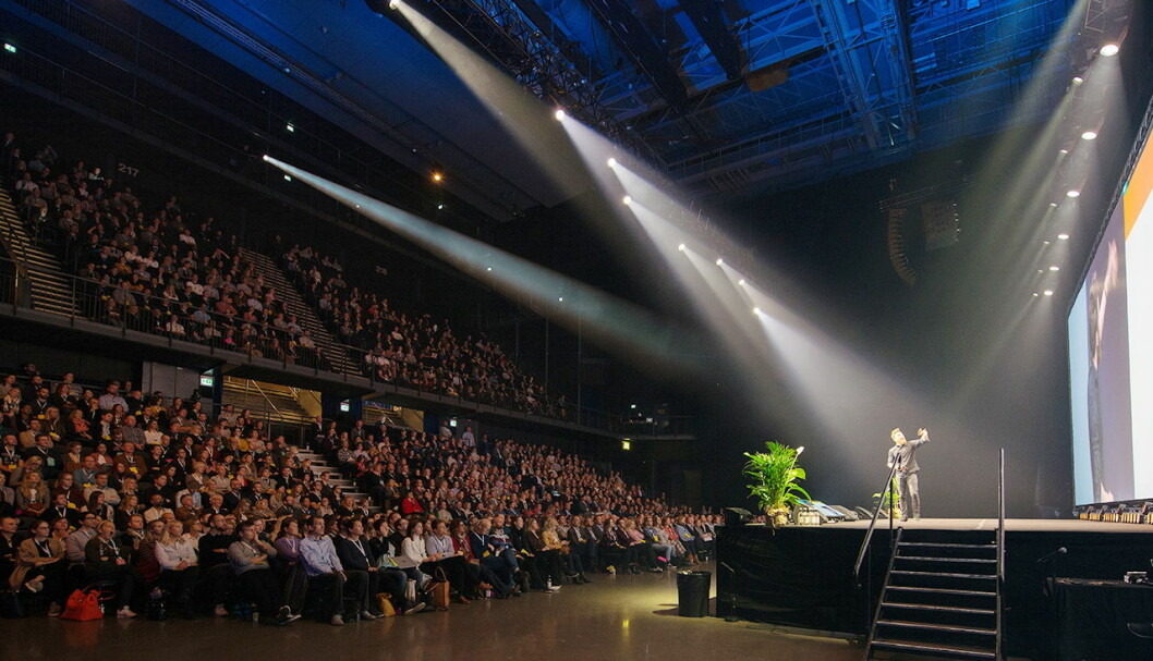 Den 13. utgaven av Webdagene arrangeres i Oslo Spektrum 17. til 19. oktober 2018. Fagkonferansen er Nordens største om digitale brukeropplevelser. (Foto: Netlife)
