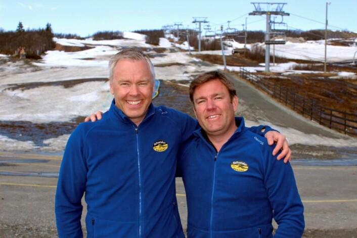 Brødrene Atle (til venstre) og Bjørnar Hovi både eier og driver konsernet Beitostølen Resort, med 2600 kommersielle senger. (Foto: DestinasjonsKirurgene)