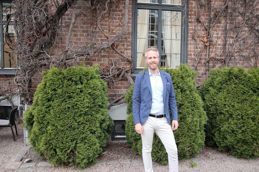 Fredrik Ekelund. (Foto: Nordic Choice Hotels)