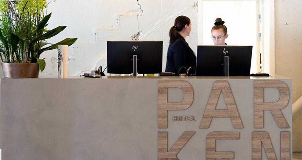 Thon Hotel Parken i Kristiansand er totalrenovert og klar til å ta imot nye gjester. (Foto: Jon Petter Thorsen/Aptum)