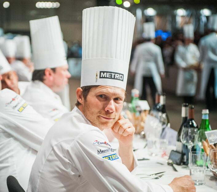 Rasmus Kofoed vant Bocuse d'Or Europe i 2010 og Bocuse d'Or i 2011. Senere har han fått tre Michelin-stjerner for sin restaurant Geranium. Nå skal han være coach fot Danmark i Bocuse'Or. (Foto Arkiv)
