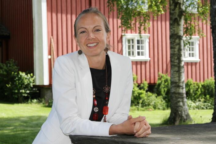 Torunn Tronsvang er gründer for Up Norway, som nå er på jakt etter nye medarbeidere. (Foto: Morten Holt)