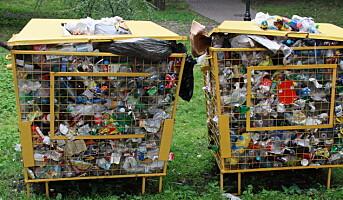 Skjærer ned på «plastmisbruket»
