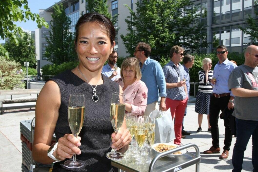 Helene Skjenneberg er administrerende direktør for Leon i Norge og Sverige. Mandag 4. juni åpnes den første restauranten i Skandinavia, i Oslo. (Foto: Karine Hildonen Henriksen)