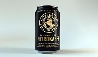 Nitrokaffe på boks