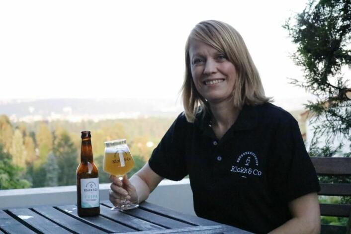 Kristine Lund er en av gründerne bak Klokk & Co. (Foto: Klokk & Co)