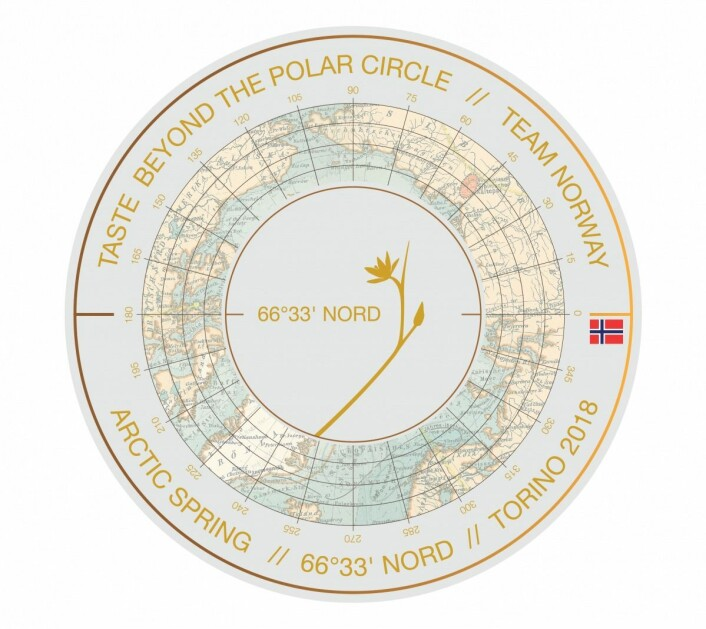 «Taste beyond the Polar Circle» – «Smaken nord for Polarsirkelen».