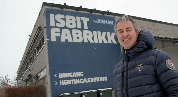 Mr. Iceman holder til på Herbergåsen i Akershus. (Foto: Morten Holt)