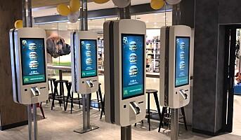 Moderne McDonald's åpnet på Sørlandsenteret