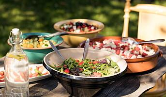 Sett salat på menyen