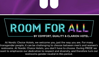 Rom for alle hos Nordic Choice Hotels