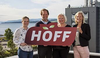 Hoff SA med ny logo