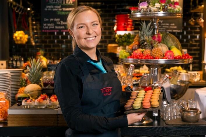 Thon Hotels har seks fylkesvinnere i kåringen av Norges beste hotellfrokost i 2018. (Foto: Thon Hotels)