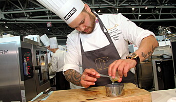 Nærmer seg levering i Bocuse d'Or Europe 2018