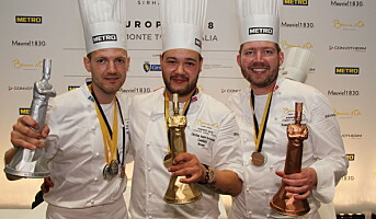 Gull til Norge i Bocuse d'Or Europe 2018!