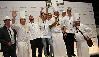 Helt overlegen i Bocuse d'Or Europe 2018