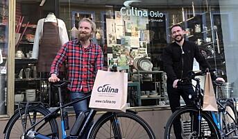 Culina på el-sykkel
