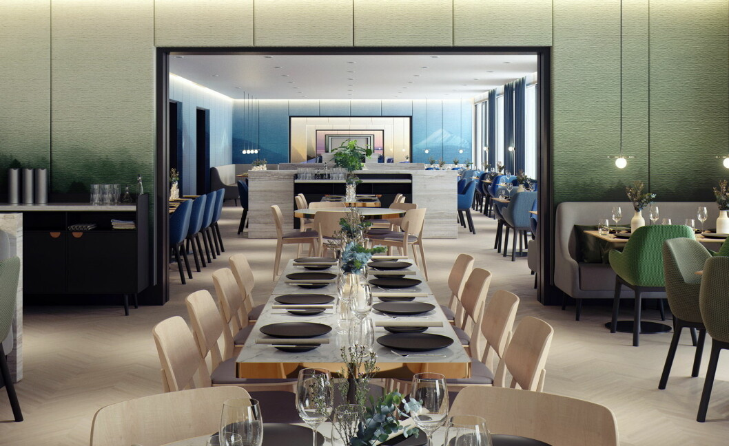 Restaurant Nova. (Foto: Hotel Norge by Scandic)