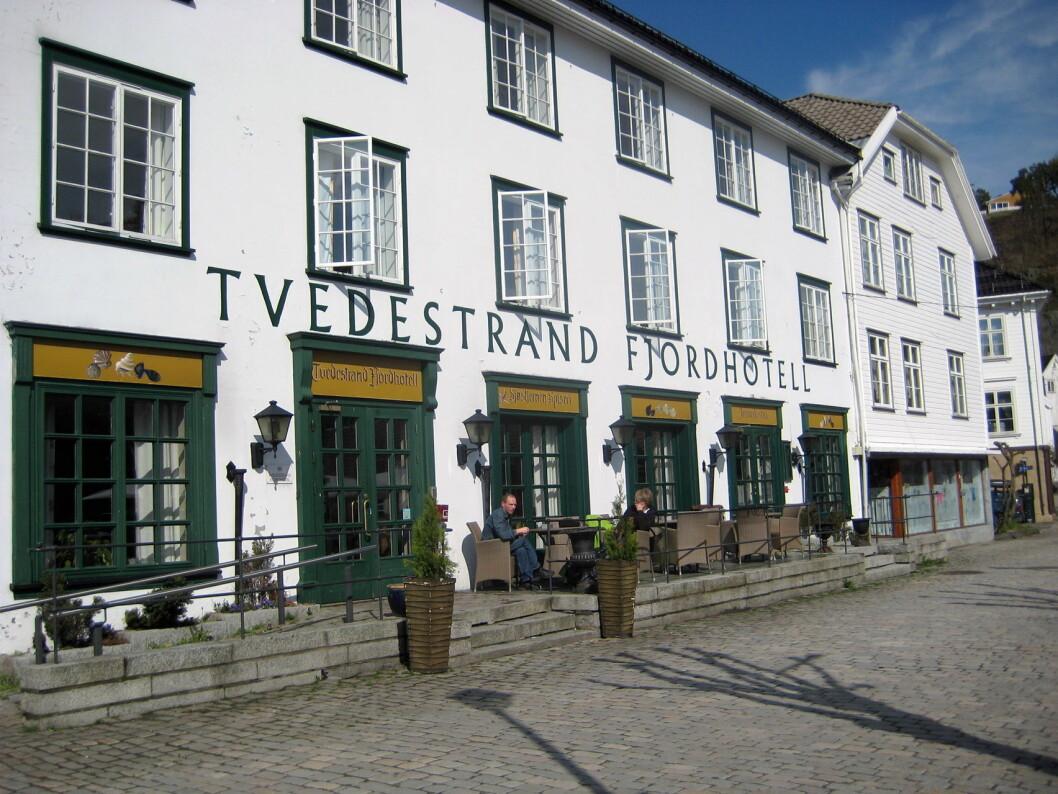 Tvedestrand Fjordhotell blir en del av Sure Collection i Best Western Hotel & Resorts. (Foto: Morten Holt)