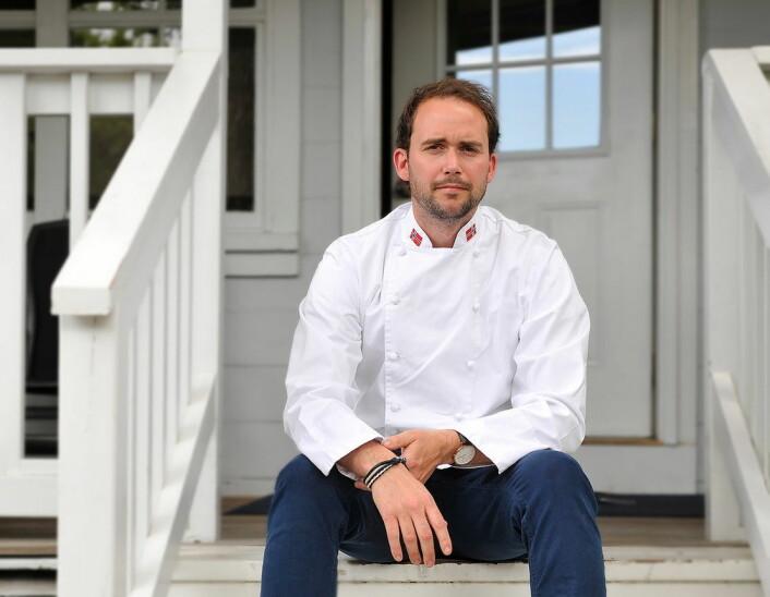 Bocuse d'Or-vinner Ørjan Johannessen skal bidra på kjøkkenet på Hotel Norge by Scandic. (Foto: Bekkjarvik Gjestgiveri)