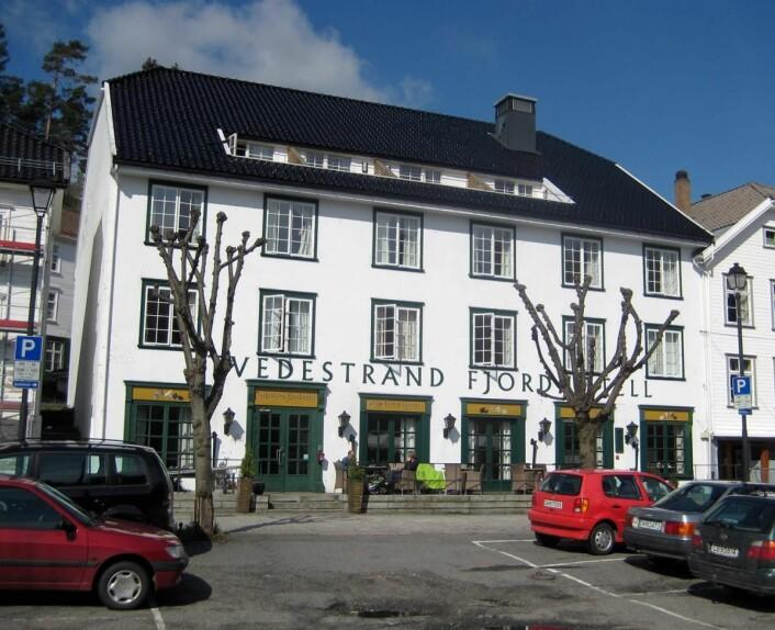 Tvedestrand Fjordhotell har 26 rom. (Foto: Morten Holt)