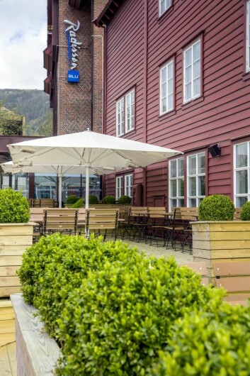 Radisson Blu Royal Hotel på Bryggen i Bergen. (Foto: Hotellet)