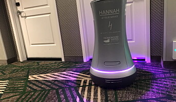 Robotene inntar hotellene