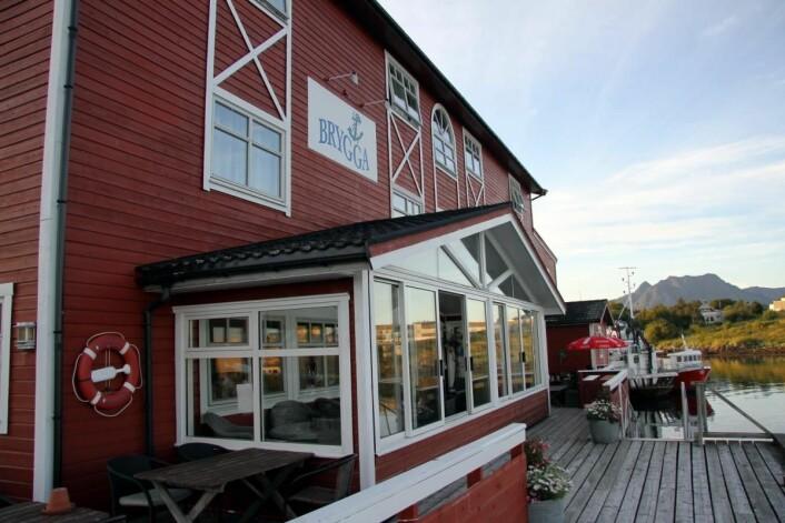 Fra Herøy Brygge. (Foto: Morten Holt)