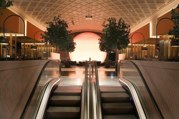 Fra lobbyen i tredje etasje på Hotel Norge by Scandic. (Foto: Scandic Hotels)