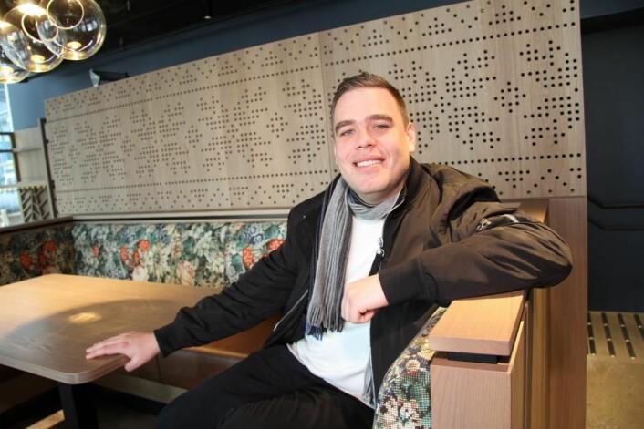 Restaurantsjef Niklas Karlsborg. (Foto: Morten Holt)