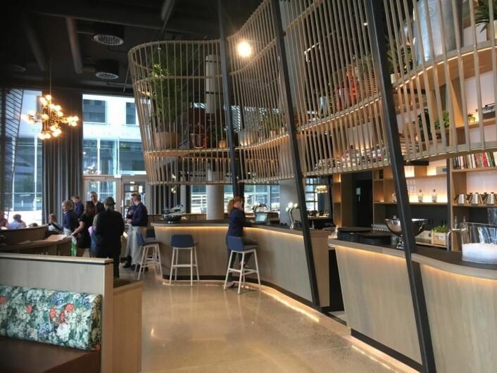 Fra barområdet i restaurant Edda. (Foto: Edda)