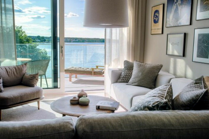 Fra ett av rommene på Slottsholmen. (Foto: Best Western Hotels & Resorts)