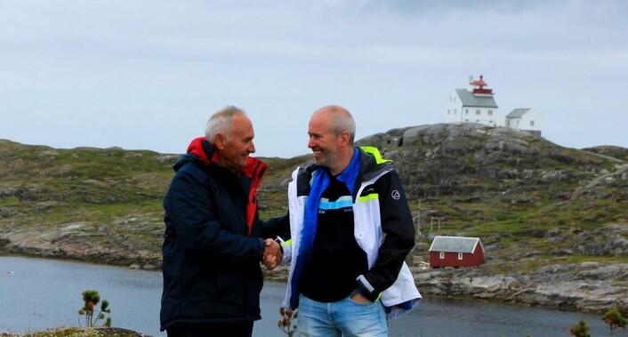 Christian Bache Gabrielsen og Roar Larsen. (Foto: Privat)