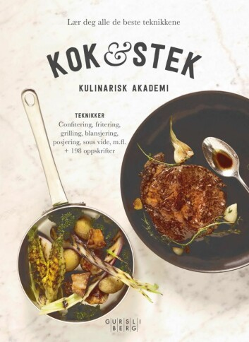 Kulinarisk Akademi har gitt ut tre bøker, deriblant prisbelønte «Kok & stek».(Foto: Paul Paiewonsky)