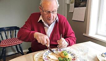 Nordmenn kritiske til eldremat