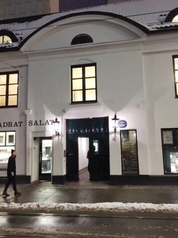 Restaurant Einer ligger i Prinsens gate i Oslo. (Foto: Restaurant Einer)