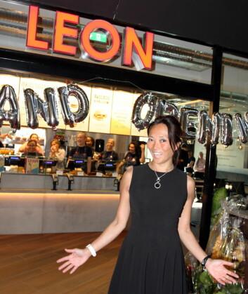 Helene Skjenneberg leder Leon i Norge og Sverige.(Foto: Karine Hildonen Henriksen)