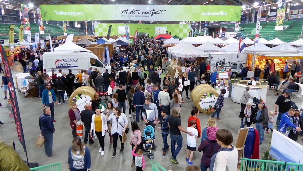 Over 10 000 besøkende er ventet til messen Midt i matfatet i Vikingskipet. (Foto: Vikingskipet.com)
