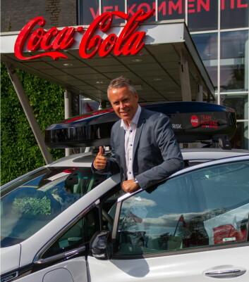 Administrerende direktør Stein Rømmerud. (Foto: Coca-Cola Norge)