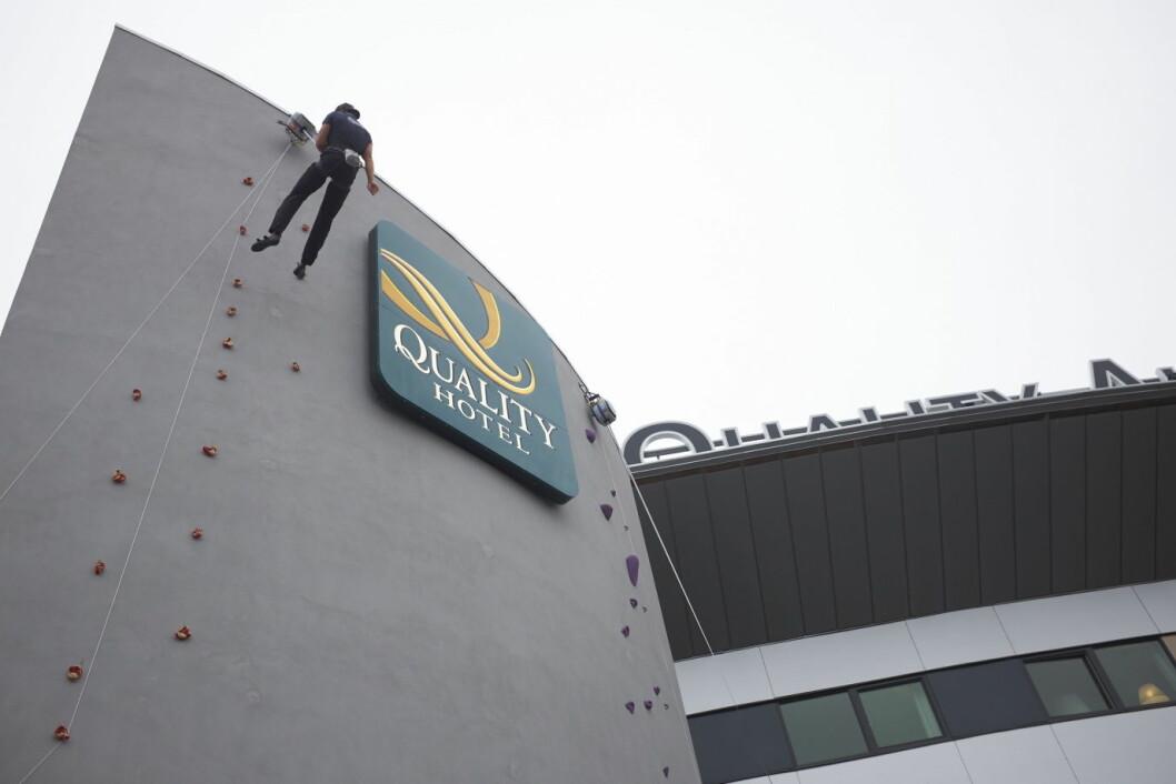 Quality Airport Hotel Gardermoen. (Foto: Jonas Berglund)